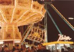 The carnival rides have the brightest lights and the loudest music exciting the crowds, as the rides whirl, twirl and move in amazing gravity defying ways.