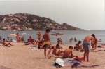 Beaches in Europe are very much family friendly scenes where young and old enjoy the water together.