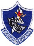 "The 10th TFS ""Fighting Tenth"" squadron patch."