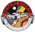 "The generic ""F-16 Fighting Falcon - Desert Storm"" patch."