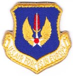 "The U.S. Air Forces in Europe or ""USAFE"" Command patch."