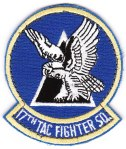 "The 17th TFS ""Hooters"" squadron patch from the ""363rd Wing Deployed."""