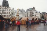 It was now December 1990, during the season of Advent - the period that includes the four Sundays that precede Christmas Day - and we visited Trier to see and explore the city's Christmas Market.