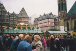 This view of Trier's Christmas Market includes some of the most beautifully restored half-timbered buildings that you'll see anywhere in Europe.