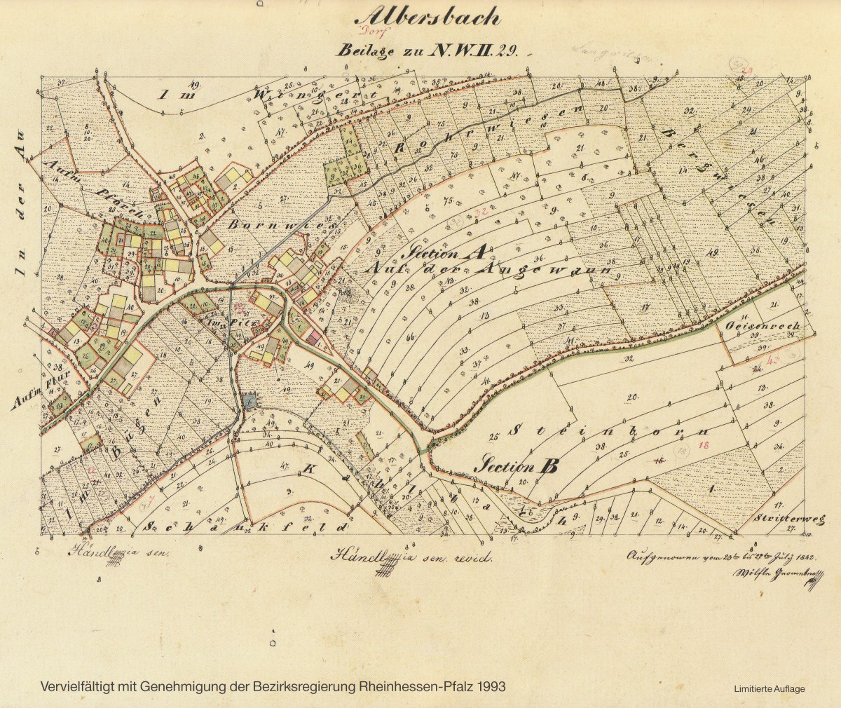 Ramstein AB Germany Set Five Albersbach - Germany map ramstein