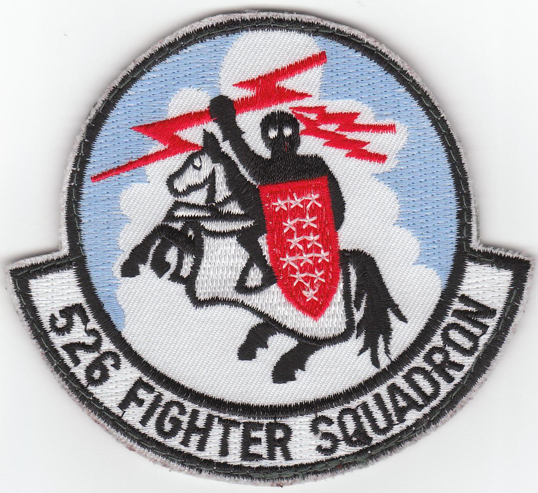 Fighter Squadron Logo The 526th Fighter Squadron