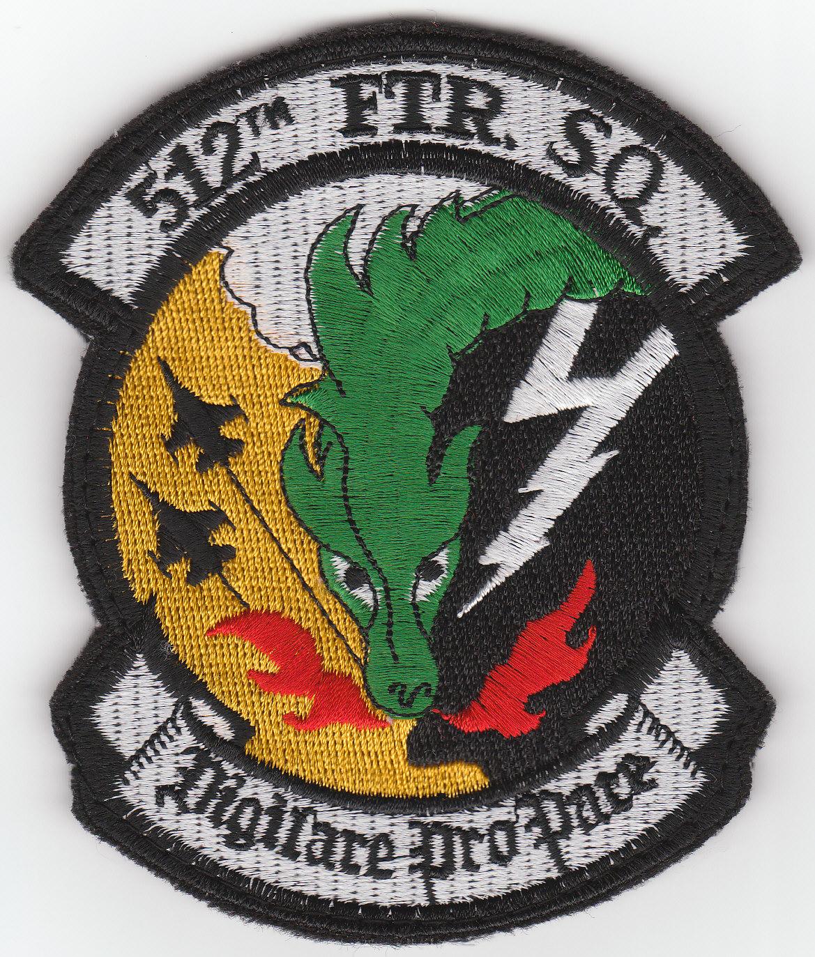 Fighter Squadron Logo The 512th Fighter Squadron