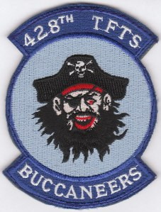 "428th TFTS ""Buccaneers"" Squadron Patch"
